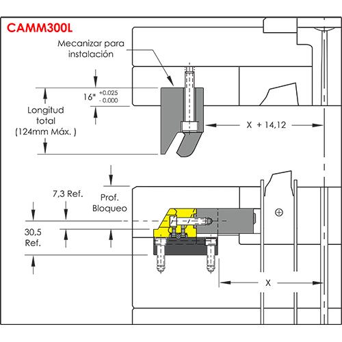 Medidas CAMM300L